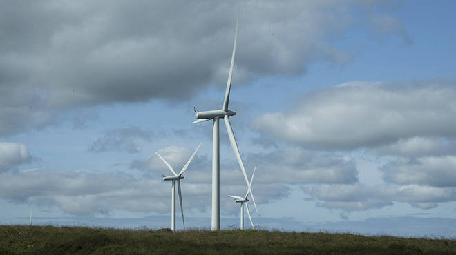 Wind farms to power all homes is the first point of the plan that tackles the UK's emissions
