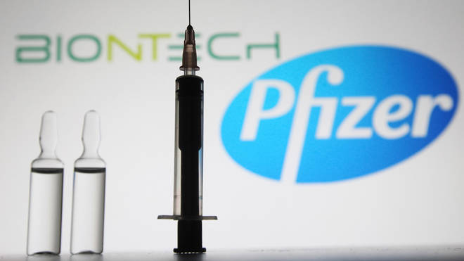 Pfizer-BioNTech has announced its Covid vaccine is now 95 per cent effective
