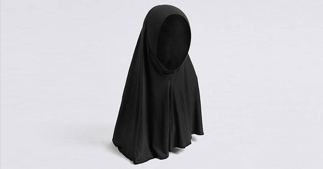 An M&S hijab for three-year-olds