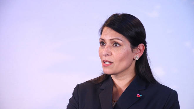 """Priti Patel said it was a """"big win for our intelligence and law enforcement agencies"""""""