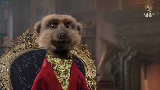 Sergei the Meerkat is seen during the Comparethemarket.com TV adverts