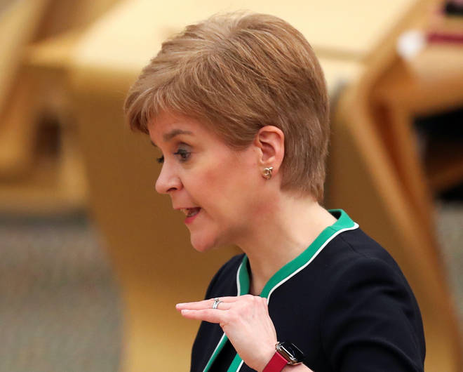 Nicola Sturgeon has hailed local Covid-19 restrictions as effective