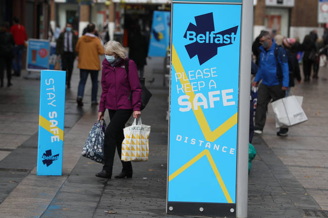 Northern Ireland will be tightening coronavirus restrictions, just weeks before Christmas