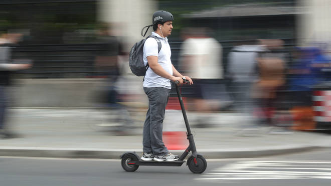 The Metropolitan Police has seized some 268 scooters which can reach speeds of up to 40-70mph