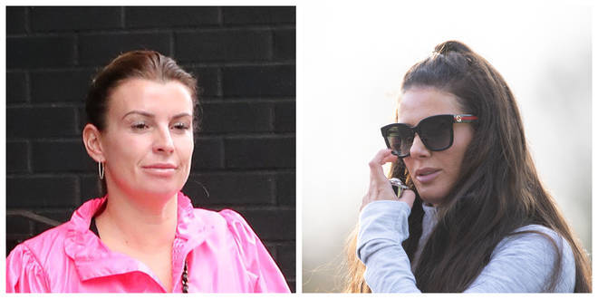 Coleen Rooney (left) and Rebekah Vardy (right) are clashing over a libel dispute