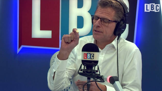 Andrew Castle shows off his poppy