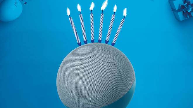 Amazon's Alexa voice assistant turns six