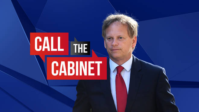 Call the Cabinet with Grant Shapps | watch LIVE