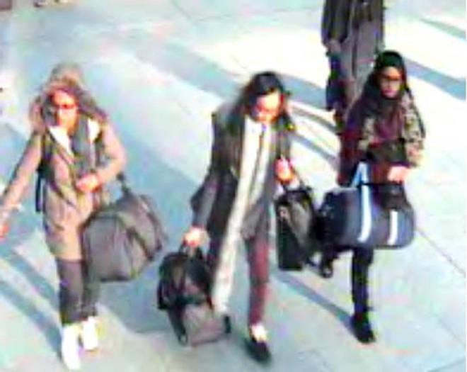 Shamima Begum was one of three UK schoolgirls who went to Syria