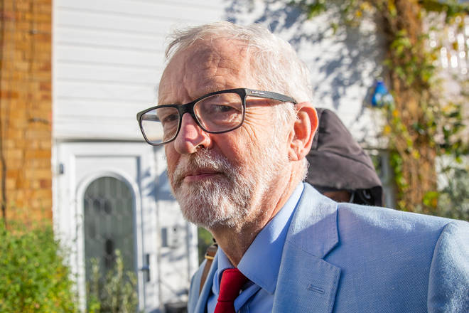 Jeremy Corbyn has been slammed for his comments on Labour's antisemitism row