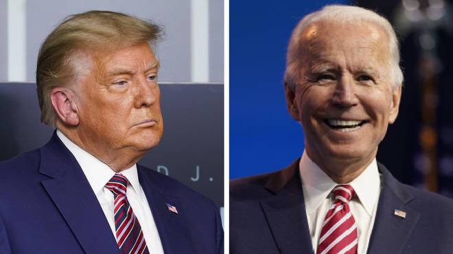 The transition from Donald Trump to Joe Biden has officially begun