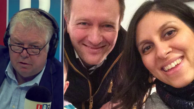 Nazanin Zaghari-Ratcliffe's husband spoke to Nick Ferrari
