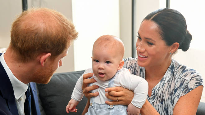 Meghan and Harry's son Archie Harrison Mountbatten-Windsor, was born on 6 May last year, and moved to LA with them when they quit life as working royals in the Spring