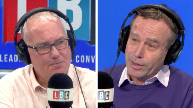 """Lionel Barber has told LBC&squot;s Eddie Mair that Tory MPs should """"take a chill pill"""" over spending"""