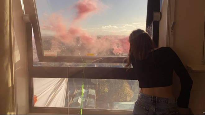 Students occupied the Owens Park Tower and staged a rent strike