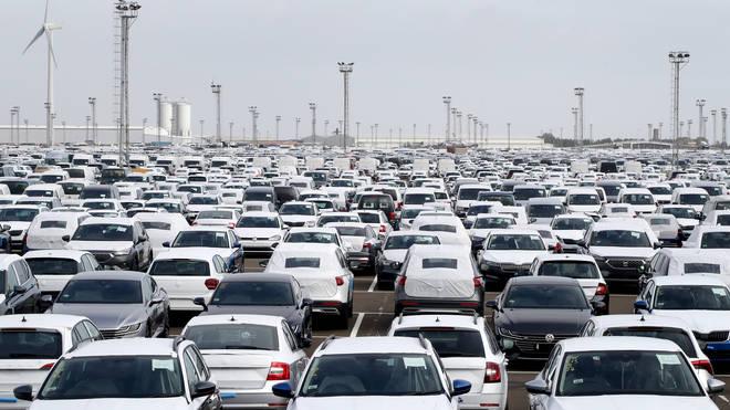 Car production falls again