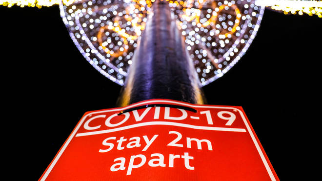 A leading scientist has expressed concern about relaxed coronavirus rules over Christmas