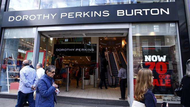 Dorothy Perkins store