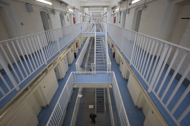 File photo: Britain's prisons have faced strict lockdowns due to coronavirus