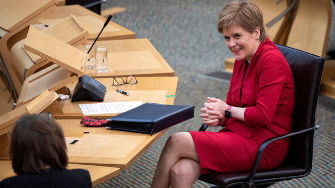 "Nicola Sturgeon will declare Scotland is ""now a nation on the cusp of making history"""