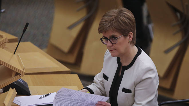 "The SNP leader will say support for independence among Scots has now ""risen to become the sustained and majority view in public opinion"""