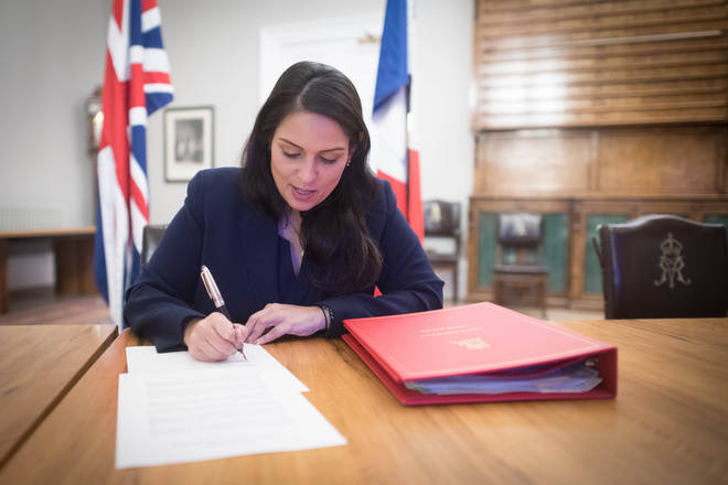 Priti Patel and her French counterpart signed an agreement on Saturday