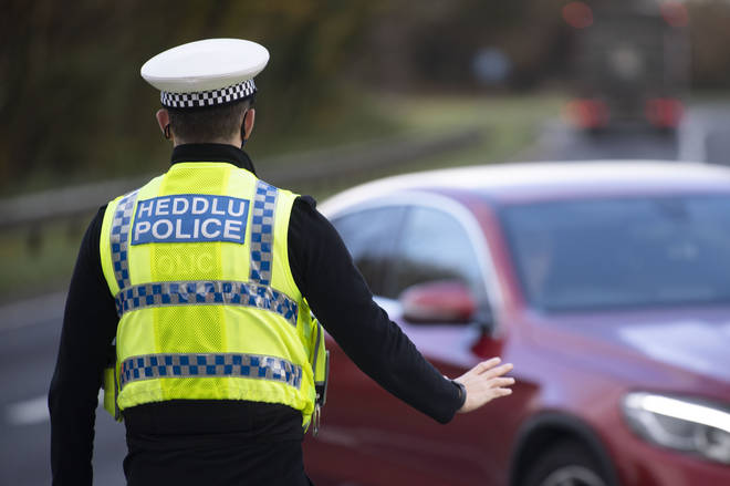 South Wales Police stopped 110 vehicles on its first day of random spot checks