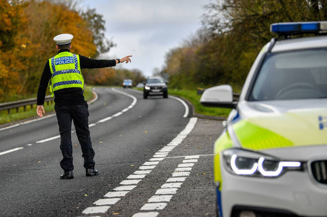 South Wales Police say they stopped 110 vehicles in the first 24 hours of their operation.