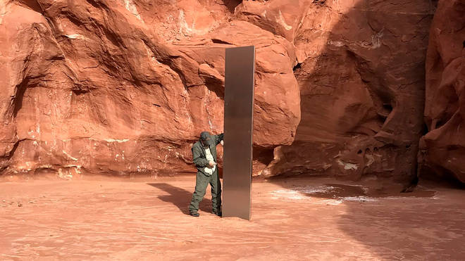 The mysterious metal monolith found in Utah appears to have vanished