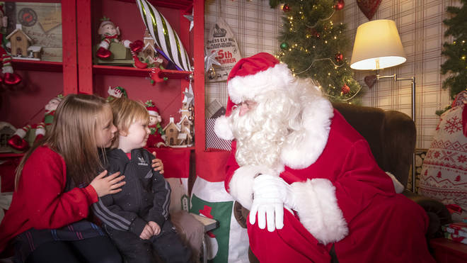 Santa's grottos will be allowed to open across all tiers in the run-up to Christmas
