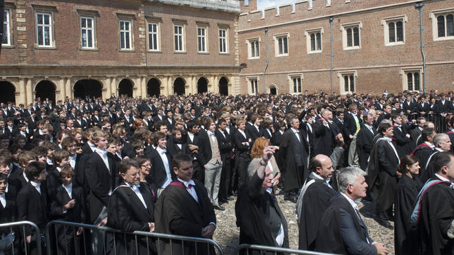 "Some at Eton have expressed concern about a ""woke"" agenda at the school"