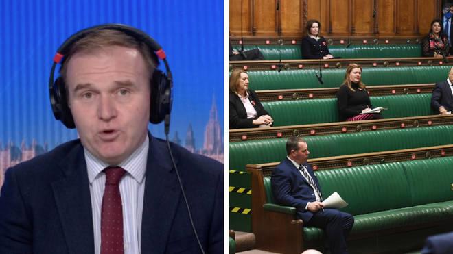 "Environment secretary told LBC that MPs should ""set aside"" party politics for coronavirus tiers vote"