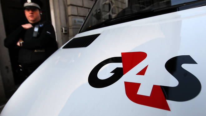 A G4S security van