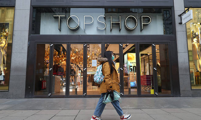 Topshop was one of Philip Green's biggest successes which led to a huge boost in his wealth