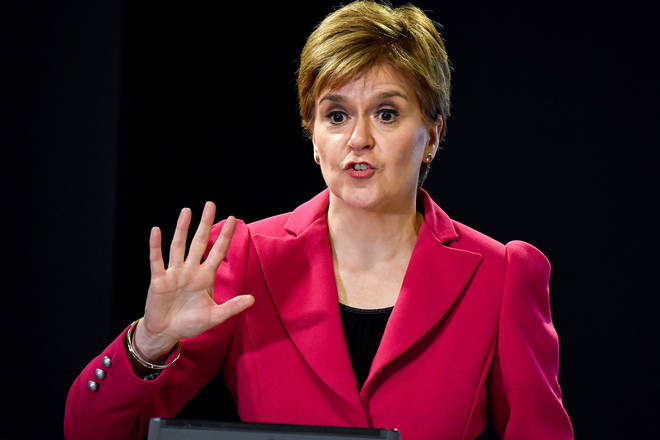 Nicola Sturgeon has announce a one-off £500 payment to NHS and social care staff in Scotland