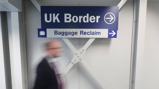 A points-based immigration system will be in place
