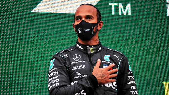Lewis Hamilton has tested positive for Covid-19