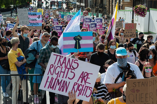 Trans campaigners have been fighting to get easier access to treatment