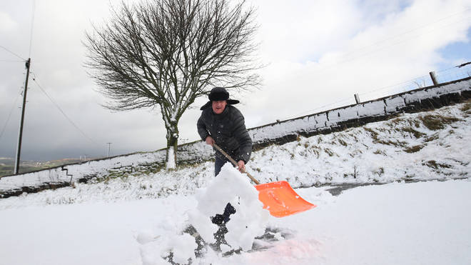 Snow could be coming to the UK