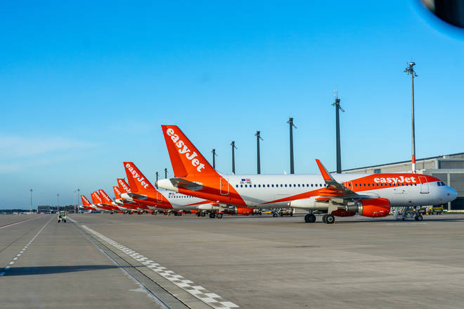 """File photo: EasyJet is tightening its hand luggage rules to """"improve boarding and punctuality"""""""