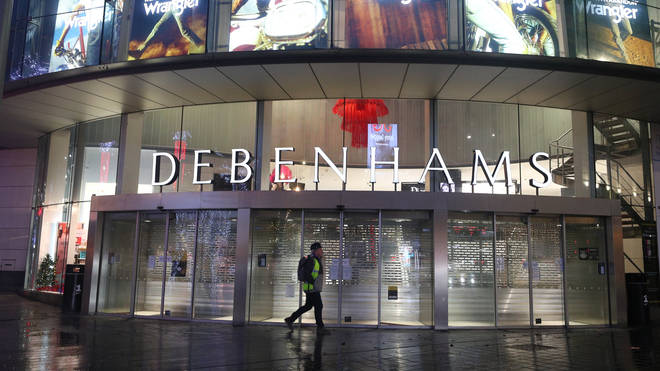 Debenhams collapsed on Tuesday, putting 12,000 jobs at risk