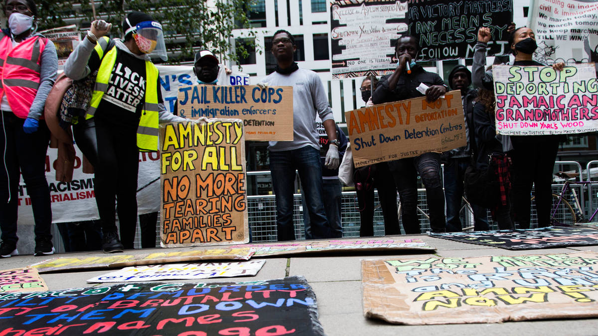 Home Office deports 13 men to Jamaica despite legal row