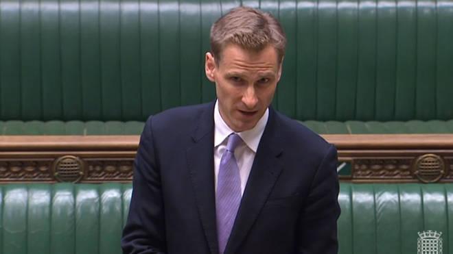 "Immigration minister Chris Philps denied the deportations were ""discriminatory"""
