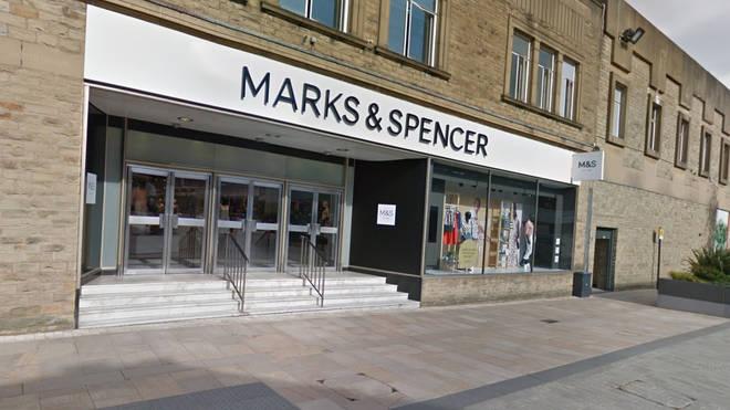Two women were stabbed inside an M&S