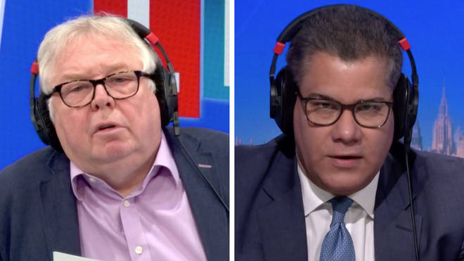 Alok Sharma was interviewed by Nick Ferrari on LBC this morning