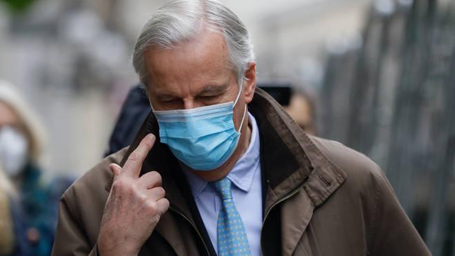 The European Union's chief negotiator Michel Barnier has been present at talks on Friday