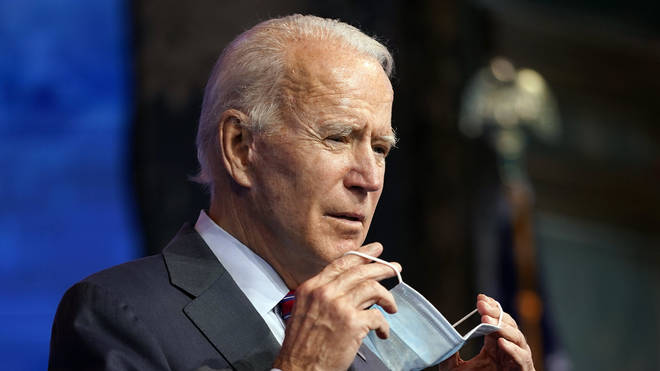 President-elect Joe Biden passed the 270 threshold