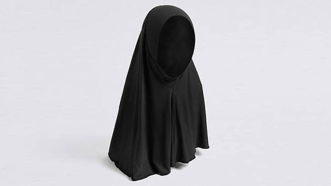 An M&S hijab for three-year-olds.