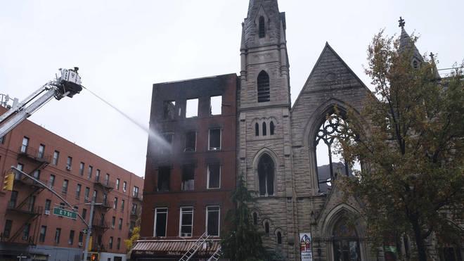Historic Church Fire