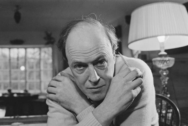 Children's author Roald Dahl, pictured in 1971, died at the age of 74 in 1990.